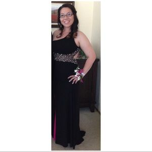 Dresses & Skirts - Women's black gown